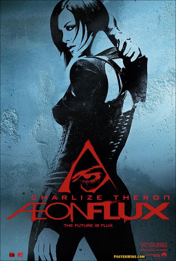 Aeon Flux movie poster