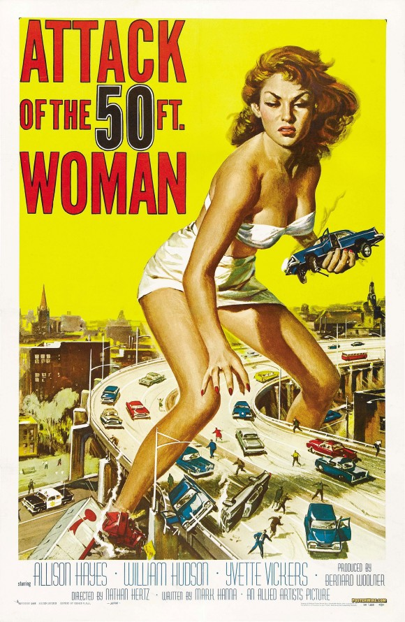 Attack of the 50ft Woman movie poster