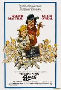 The Bad News Bears 1976 movie poster