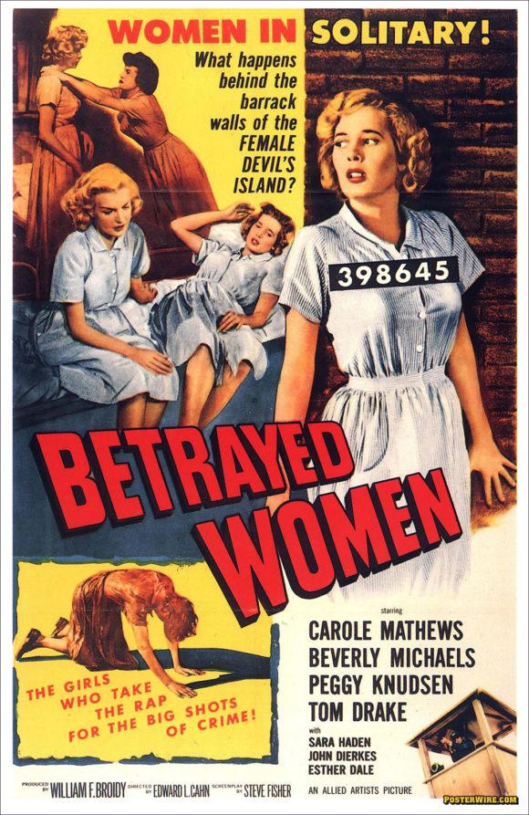 Betrayed Women movie poster