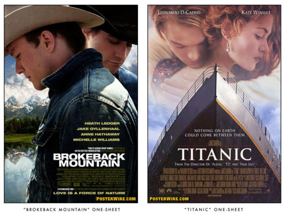 Brokeback Mountain vs Titanic
