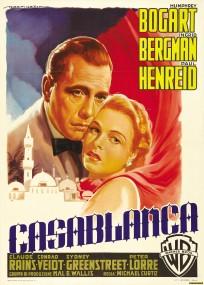 Casablanca Italian movie poster