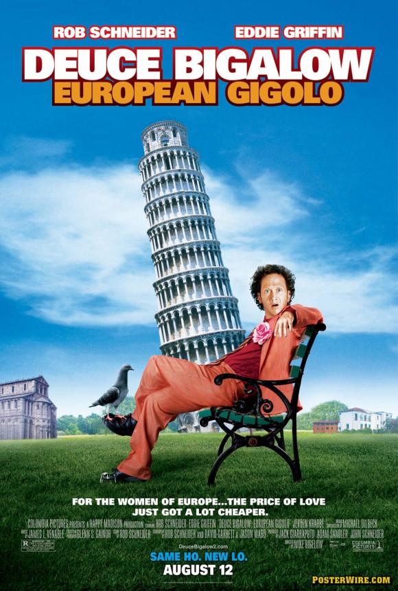 Deuce Bigalow European Gigolo movie poster
