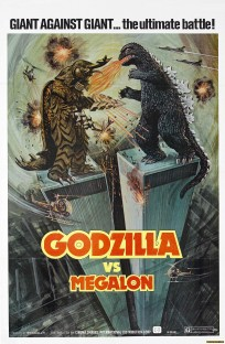 Godzilla vs Megalon movie poster