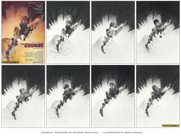 The Goonies newspaper ads