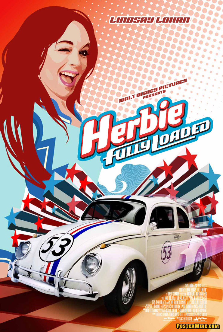 Herbie Fully Loaded Short Circuit Movie Posters From Poster Shop