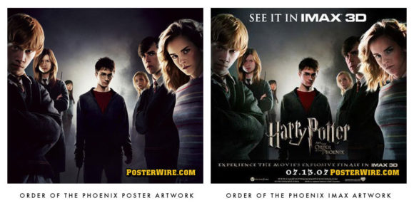 Harry Potter and the Order of the Phoenix IMAX poster