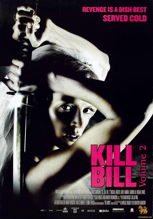 Kill Bill Volume 2 movie poster