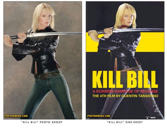 Kill Bill photo shoot