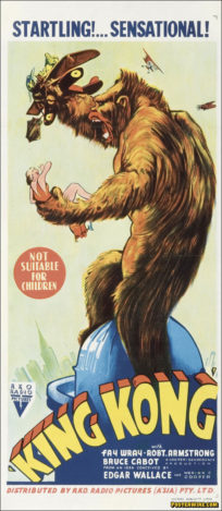 King Kong 1949 movie poster