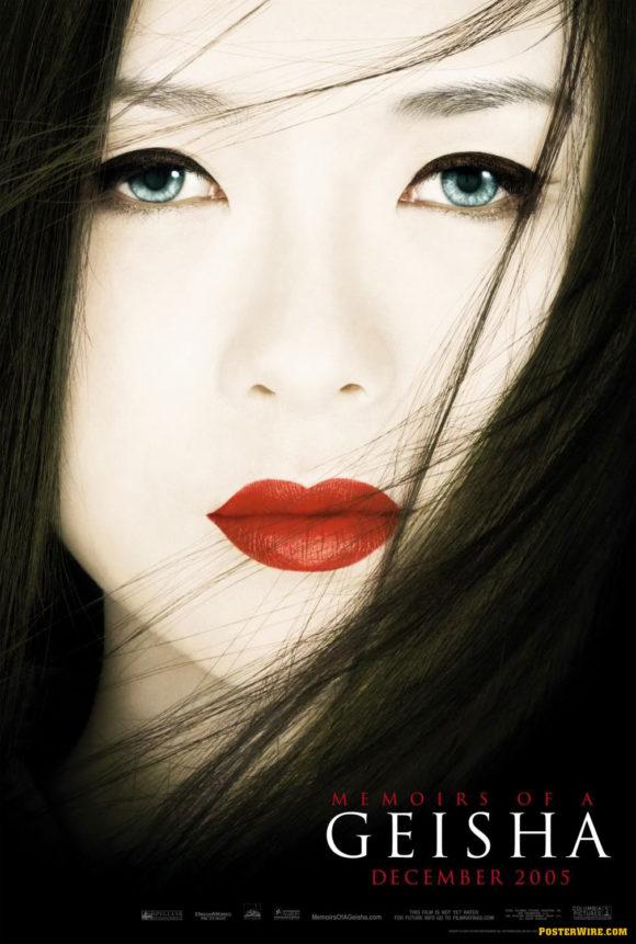 Memoirs of a Geisha movie poster