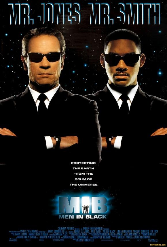 Men in Black MIB movie poster