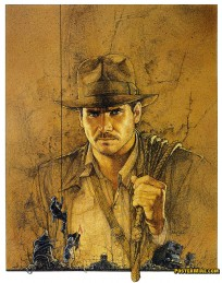 Raiders of the Lost Ark movie poster art