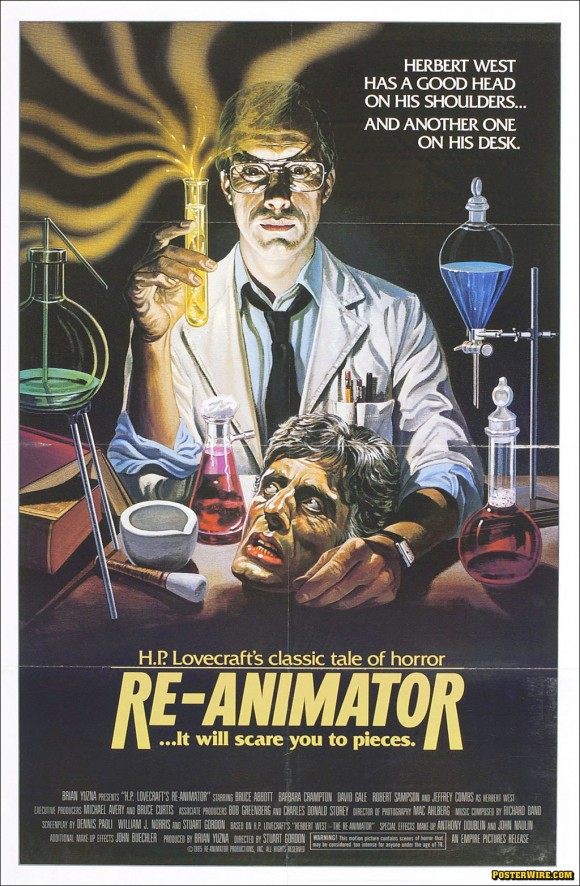 Re-Animator movie poster