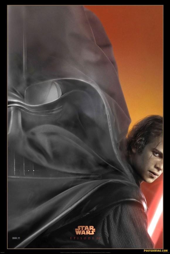 Star Wars Episode 3 Revenge of the Sith teaser poster