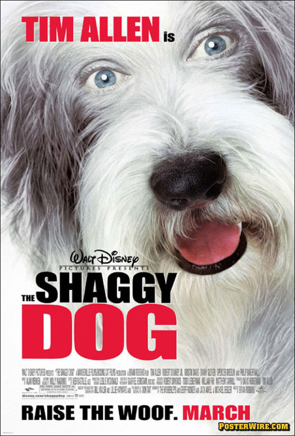 The Shaggy Dog movie poster