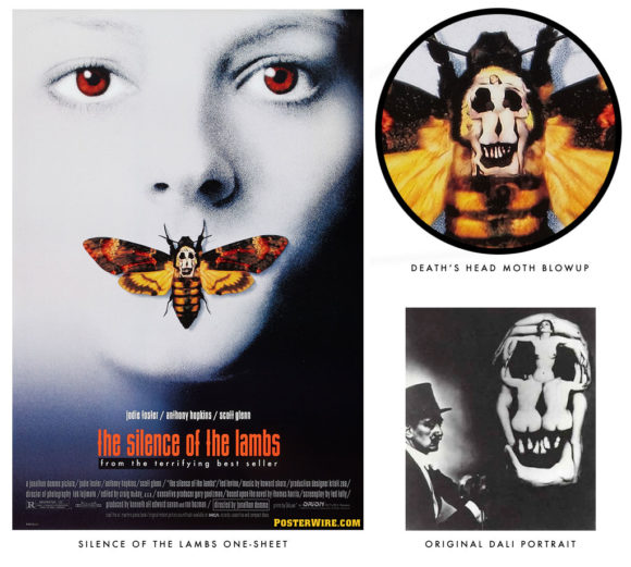 Silence of the Lambs Death's Head Moth