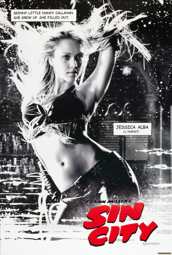 Sin City Nancy movie poster
