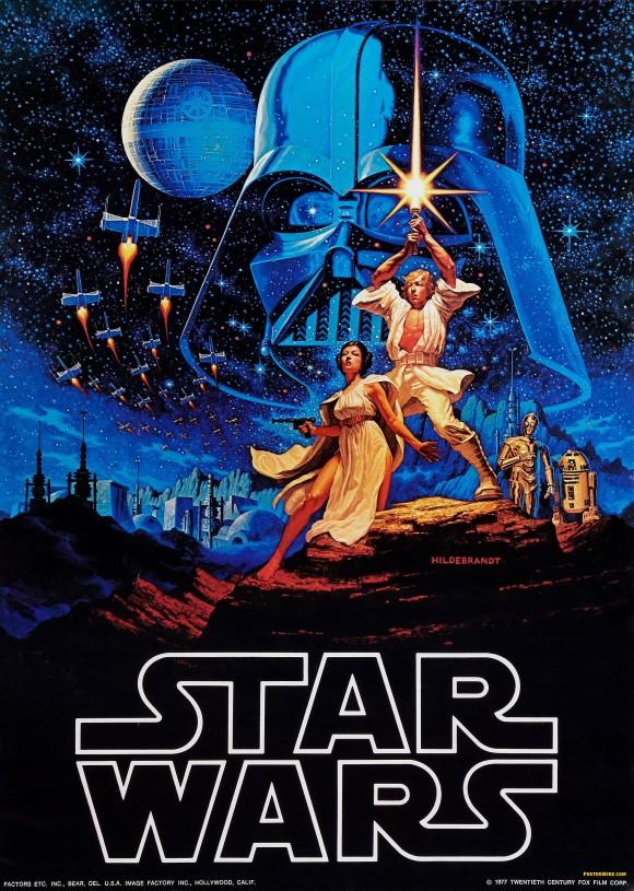 Star Wars promo poster