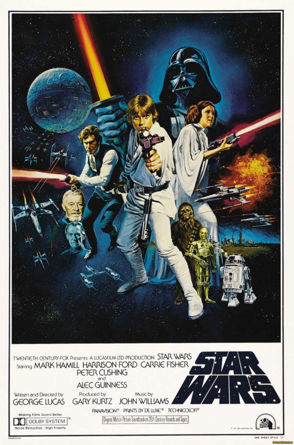 Star Wars movie poster Style C