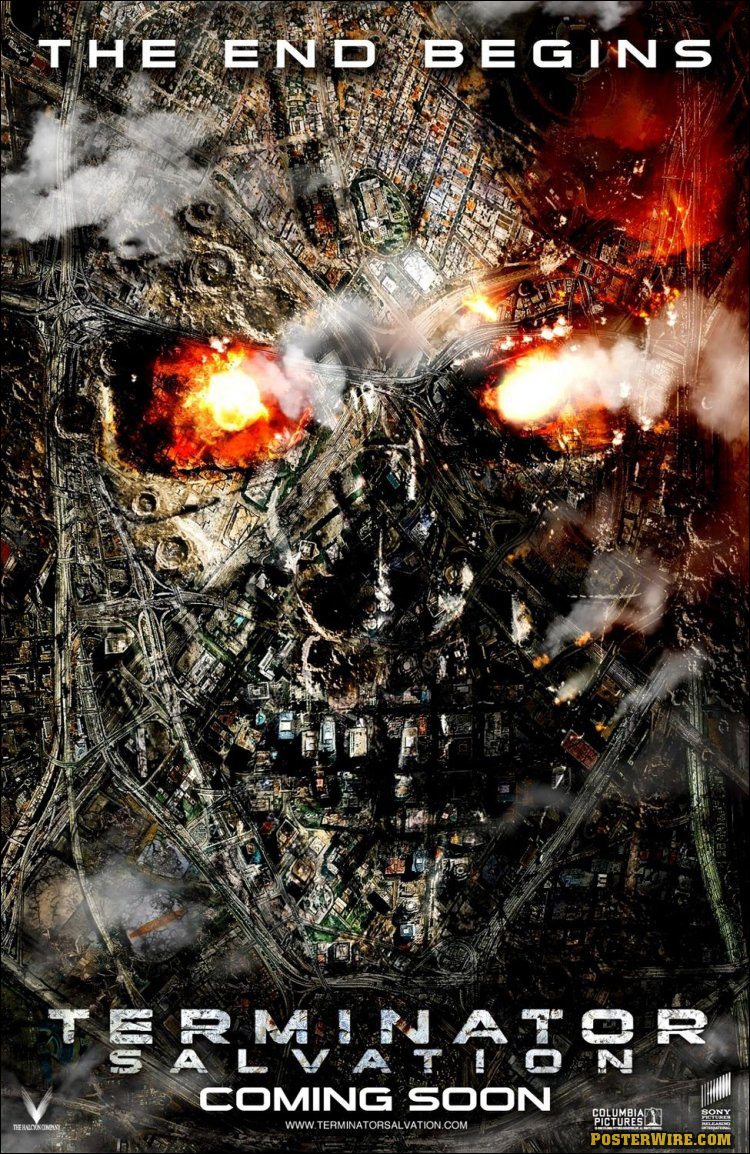 Movie Poster Articles Short Circuit Posters From Shop The Modern Animated Terminator Salvation
