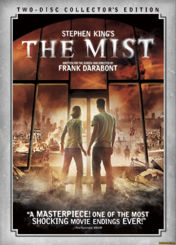 The Mist DVD poster