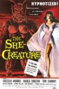 The She-Creature movie poster