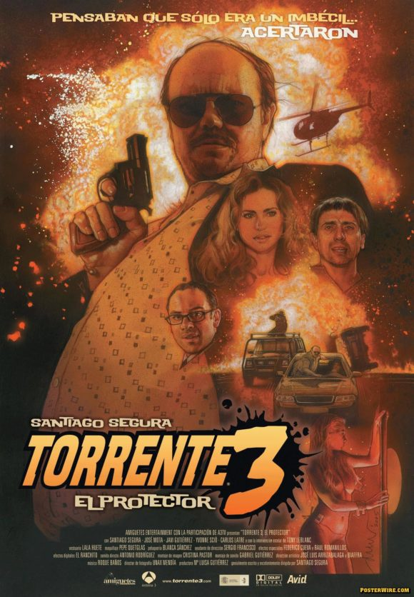 Torrente 3 movie poster