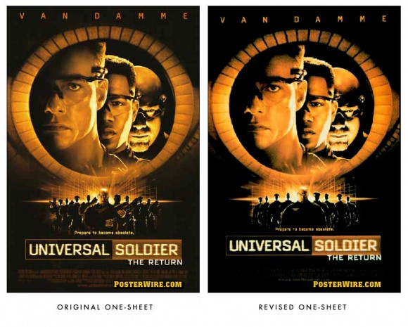 Universal Soldier The Return movie poster