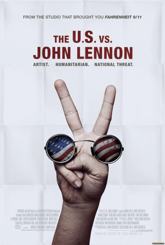 The U.S. vs. John Lennon movie poster